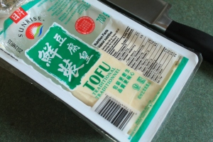 Package of tofu